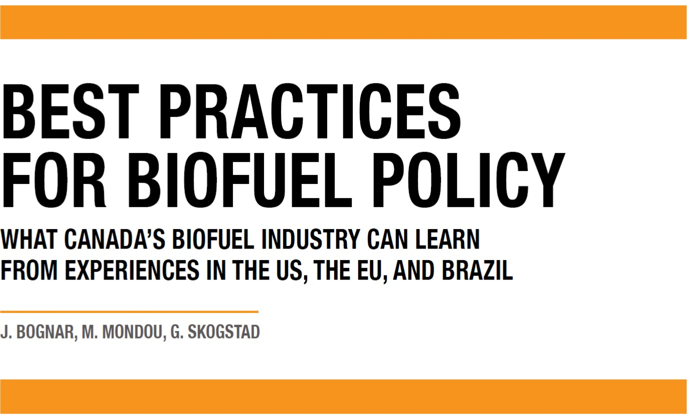 Biofuels Policy Brief